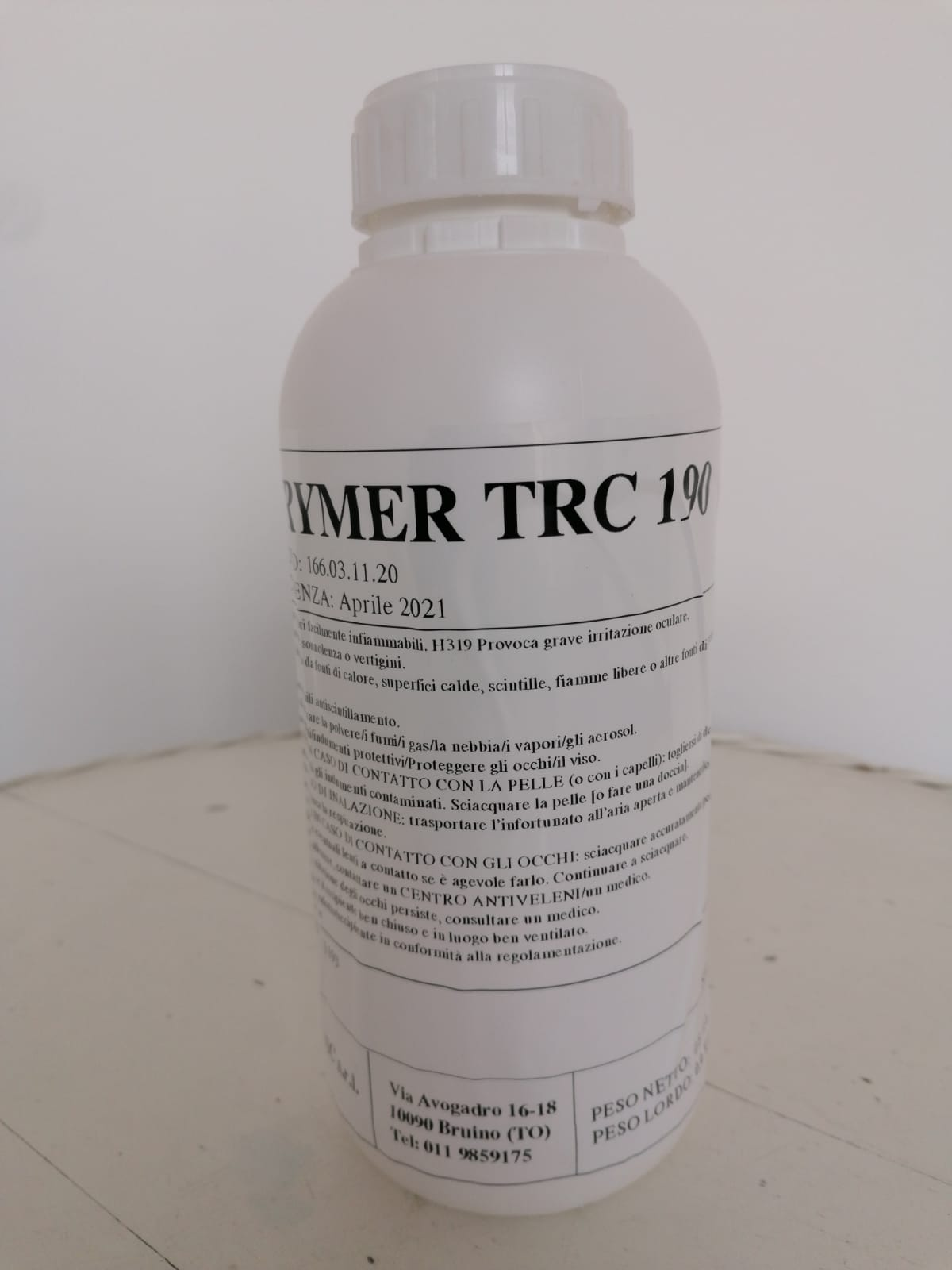 Teflon-paints or plastic-coated paints: one solution with TRC 190!
